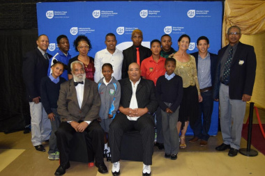 The winners were honoured for their achievements at the Central Karoo District Sports Awards