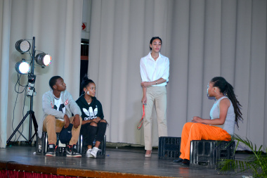 The winning production – Skuld by the Revelations drama group
