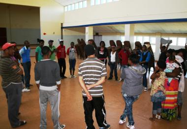 The workshop bring youths together.