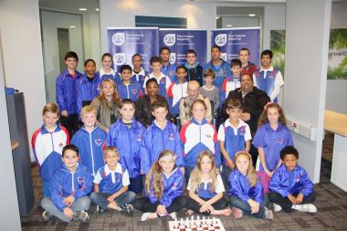 International Master Aleksander Lysenko readies team SA for the Chess Olympiad.