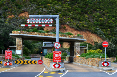 Chapman's Peak Drive and Toll Plaza is closed until further notice.