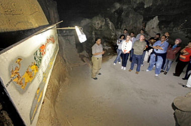 Tour at the Cango Caves