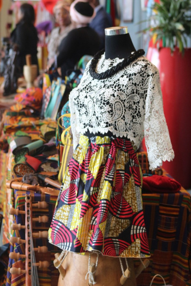 Traditional African fashion on display