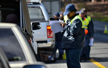 Traffic officers are showing zero tolerance for any breach of the traffic safety laws.