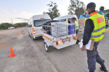 Traffic officers will be doing routine vehicle checks in December.