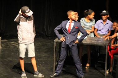 Trane dra Krag from Bellville South Primary School captivated the audience