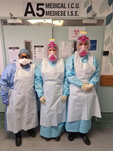 Tygerberg Hospital Physiotherapy COVID-19 team
