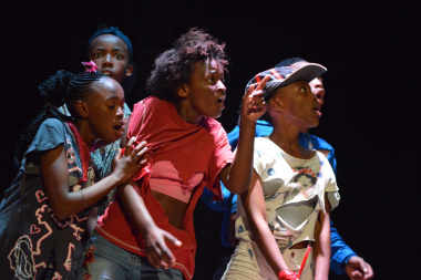 Tyholorha Drama Club were the most group of the night