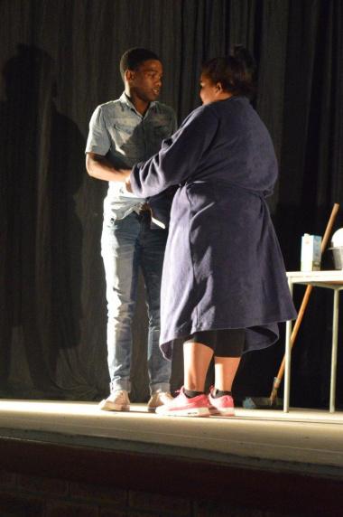 Ubumnandi Bethu with a moving performance