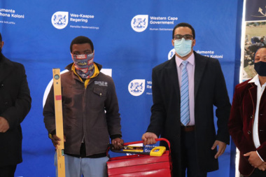 Uniondale learners receive Construction Toolkits as part of Youth Empowerment Programme