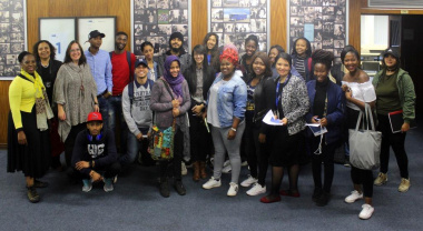 UWC Library and Information Science students interact with DCAS Library Team in Cape Town