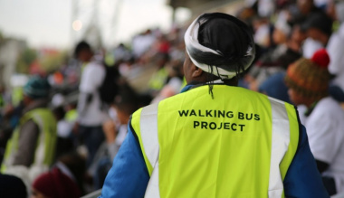 The Walking Bus Project has launched in over 72 areas and continues to positively impact school attendance by pupils.