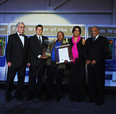 Western Cape Farm Worker of the Year 2013