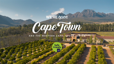 """We Are Open"" campaign videos encourage visitors to get that ""faraway feeling"" in Cape Town and the Western Cape"