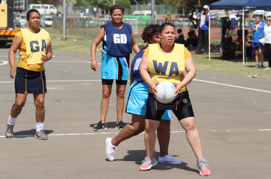 Western Cape Government staff of all ages took part in the various sports on offer.