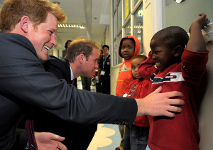 Royalty Visits Red Cross War Memorial Children's Hospital