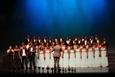 Winners of the Premier Section, Western Chorale, in their performance of Magnificat