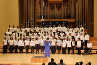 Witzenburg choir stirred emotions signing Ukuthula