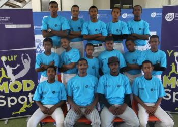 Worcester Strikers - Cape Winelands u15 Boys Baseball Team who won the tournament