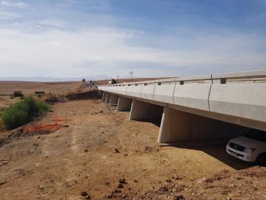 Work on bridge structures