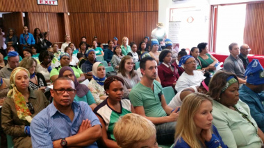 Launch of the Western Cape on Wellness (WoW!) Pilot Initiative which took place today at the Gardens Commercial High School. Wow aims for culture of wellness at all levels of society.