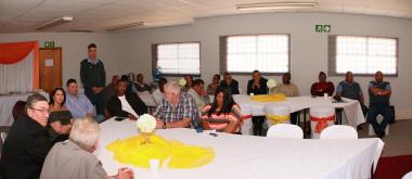 Deputy Director W vd Merwe Speech