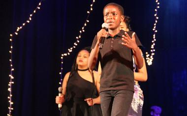 Yamkela Fatyi won gold at the showcase as part of the Amazulu ensemble.