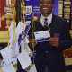 A grade 12 learner from the Simon's Town High School shared an inspiration message of bravery on a postcard at the launch of the SS Mendi exhibition
