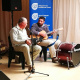 A music performance by Louis and Egbert Brink