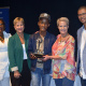 African Calling received the ATKV roving award from Ms Moleleki, Minister Marais, Ms Le Hanie and Mr Bock