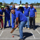 Bergriver Municipality was very eager to start the cricket match at the West Coast BTG