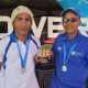 DCAS MOD Centre Denver Bocks and Danrich Booysen went for gold in table tennis at the West Coast BTG