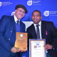 Dr Bouah with Sportsman of the Year Ricardo Alexander