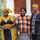 Dr Thozamile Qubuda (right) with his partner and Museum Manager Dubula