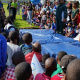Gymnastics demonstrations by West Coast Gymnastics
