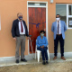 Cape Agulhas Mayor Paul Swart, Ms Katriena Dawids (56) and Minister Tertuis Simmers