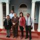 Minister Meyer, Zakariya Hoosain and Harry Malila with representatives of Kannaland Municipality