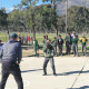 Learners participate in various sport codes at the Olympic Values roadshow in Saron