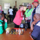 Minister Anroux Marais on a walkabout at the West Coast Better Together Games
