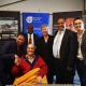 Minister Anroux Marais and Denis Goldberg with Chief Director Guy Redman, Director Mxolisi Dlamuka and Deputy Director Janse van Rensburg who facilitated the agreement
