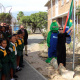 Minister Anroux Marais hoisted the South African flag at GJ Joubert Primary School