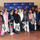 Minister Marais with the participants of the Oral History Initiative in Laingsburg.