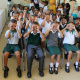learners show their excitement