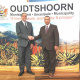 Minister Meyer and Mayor of Oudtshoorn Municipality