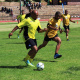 Oudtshoorn Municipality vs The Department of Health (Beaufort West Hospital) playing soccer.