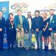 Some of the award winners with JP Naude, Ald von Schlicht and Lorenzo Arendse