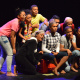 Team Most Wanted, from Swellendam, perform at the Saturday Showcase at the Baxter Theatre's Zabalaza Festival.
