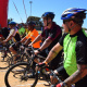 The 10km cycling officially started the race activities at the BTG in the West Coast