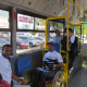The buses provide services for people with disabilities.