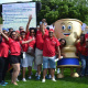 The DCAS team filled with excitement and enthusiasm at the Metropole Bet...